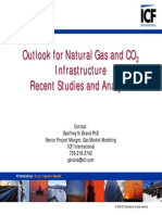 Outlook for Natural Gas and CO2 Infrastructure Recent Studies and Analysis