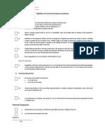 Checklist (Goods)