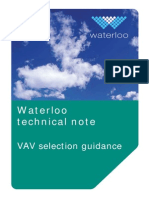 VAV Selection Guidance