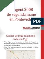 Peugeot 2008 de Segunda Mano en Pontevedra