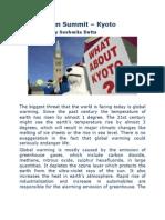 Copenhagen Summit - Kyoto Protocol