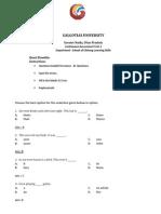 Test Paper Quazi POS