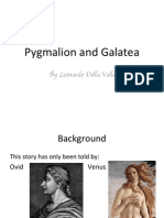 Della Valle, Pygmalion and Galatea
