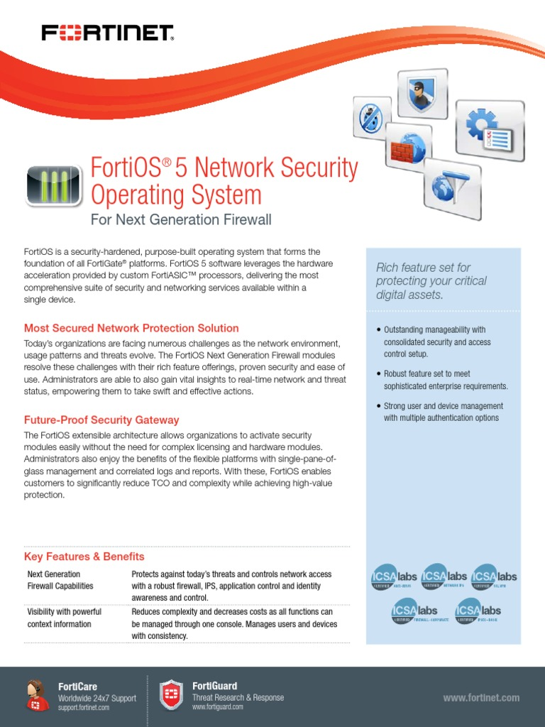 FortiOS_NGFW | Transport Layer Security | Computer Network