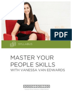 Course Syllabus - Master Your People Skills