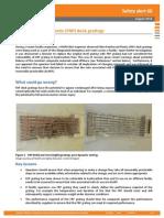Fibre Reinforced Plastic Deck Grating issue