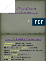 Role of Media During Loksabha Election 2014