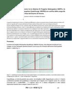 Geometria Sacra Confronto Tra La Matrice MDPR e La Matrice Quadrilunga MDPRQ Con Verifica Delle Congruità Relative Con La Pianta Di Base Del Duomo Di Firenze