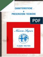 Alfa Romeo Giulia Nuova Super 1300-1600