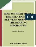 James Beament How We Hear Music