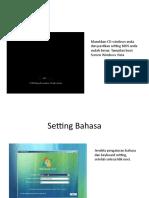 Installasi SISTEM OPERASI Windows Vista