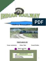Neelam Documantation of Railway Reservation for Print