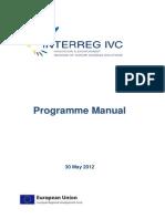 Interreg Ivc Manual