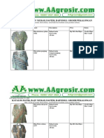 Jual Grosir Batik Solo Pekalongan Model Terbaru 2009 Aagrosir.com Katalog 16 Desember