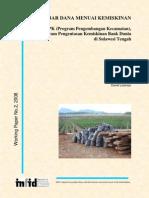 Penelitian tentang Program Pengembangan Kecamatan (Kecamatan Development Program)