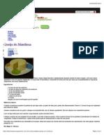 Queijo de Mandioca | Tudo para Vegetarianos