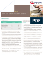 All India Value Added Tax Budget Highlights 2013-1