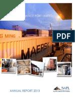 SAPL Annual Report 2013