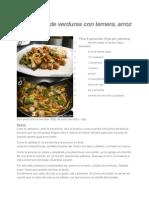 Chino y wok