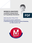 Decalog politic - Monica Macovei