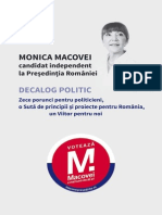 Decalog politic - Monica Macovei