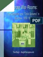 Corporate War Rooms