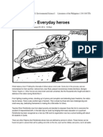 EDITORIAL - Everyday Heroes