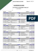 Calendario Benjamins f7 Serie B