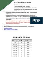 Kontrak Perkuliahan OSeanografi Fisika