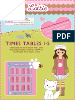 little dolls with kittens multiplicationcharts