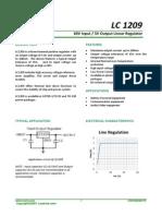 LC1209 Datasheet(V1.0)