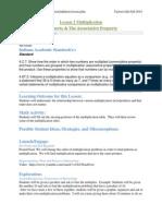 307 lesson 2 math associative property