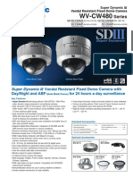 Super Dynamic III Vandal Resistant Fixed Dome Camera