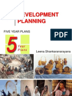 Development Planning & Five Year Plans