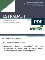 Aula 03 - Estradas I