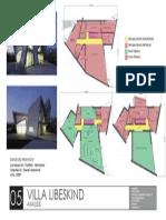 Análisis de circulaciones y áreas de la Villa Lebenskind