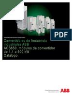 ACS850, Catalog ES