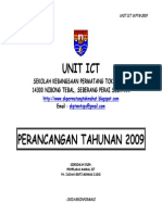 Rancangan Tahunan Unit Ict 2009 -New