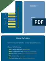 Backup details presentation