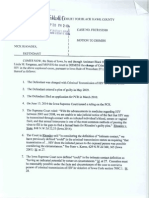 State v. Rhoades, Motion to Dismiss