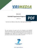D4.14.2 PLAYHIST Experiment Progress Report v1.0