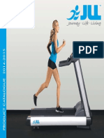 JLL Fitness Treadmills Catalogue 2014 2015