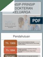 Prinsip Kedokteran Keluarga