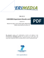 D4.12.3 CARVIREN Experiment Results and Evaluation v1.0