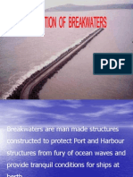 Construction of Breakwaters