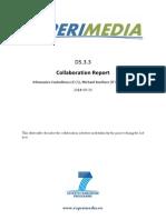 D5.3.3 Collaboration Report v1.0