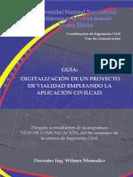 Guía Digitalización de Un Proyecto de Vialidad 00