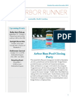 Arbor Run Newsletter Oct-Nov-Dec 14