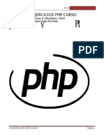 Ejercicios y Practicas PHP