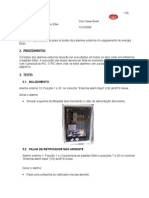 Testes de Alarmes Externos Bastidor Eltek V2 0